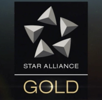 Star Alliance GOLD membership card. 2 YEARS!!