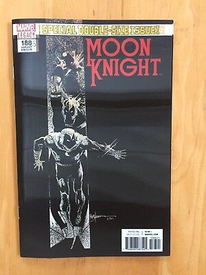 Moon Knight #188 (Marvel 2017) Nm To Nm+ Copy Lenticular 3-D #25 Legacy Variant