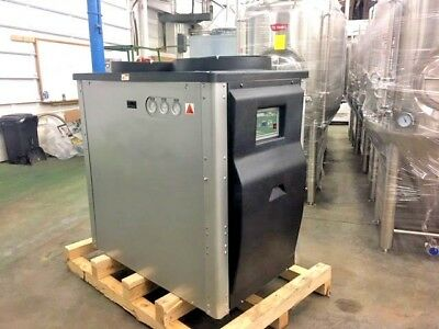 2018 New 10 ton Air Cooled Glycol Water Chiller IN STOCK 230V 3hp Pump KIG #5329
