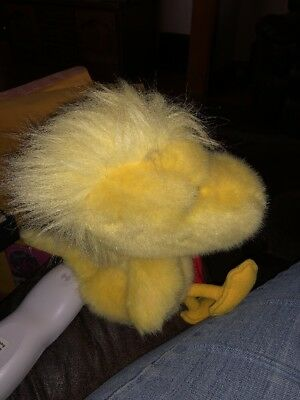 1993 Dakin Plush Woodstock Bird Peanuts Gang 10""