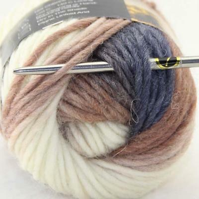 Sale Lot 1Ball x50gr New Knitting Yarn Chunky Colorful Hand Wool Wrap Scarve 832