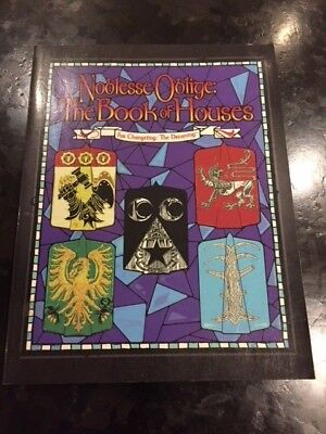 Changeling : Noblesse Oblige The Book of Houses