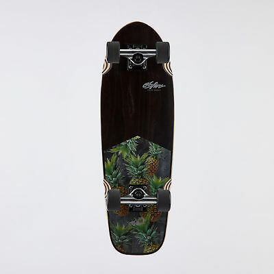 "City Beach OBfive Smoked Pineapple 28"" Complete Cruiser Skateboard"