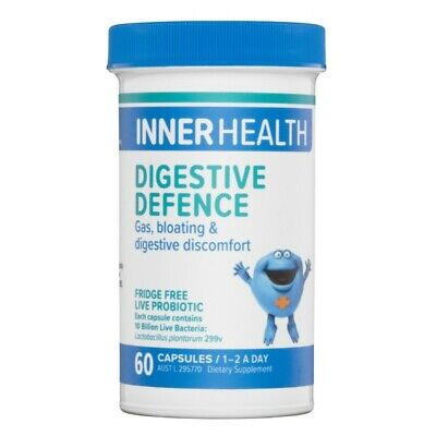 Ethical Nutrients Inner Health Digestive Defence 60 Capsules Constipation Gas