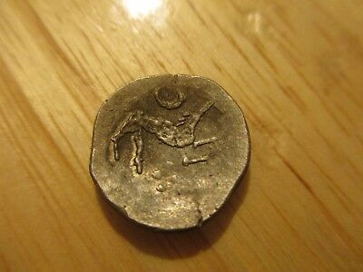 RARE Ancient Celtic Silver Coin circa 65 - 45 Century BC