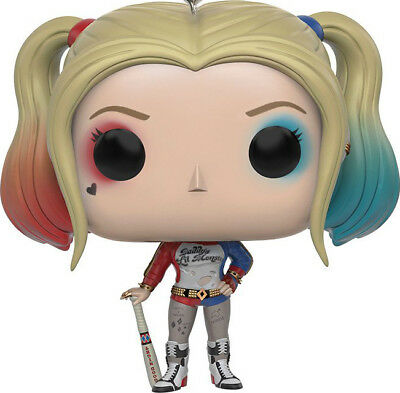 FUNKO POCKET POP KEYCHAIN Suicide Squad Harley Quinn SOFT VINYL ACTION FIGURE