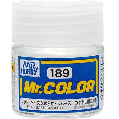 GSI CREOS GUNZE MR HOBBY Color C189 Flat Base Smooth LACQUER PAINT 10ml MODEL