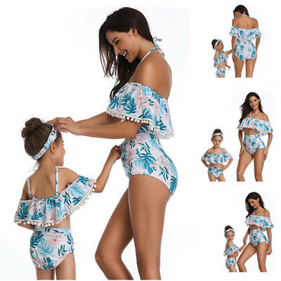 Women High Waisted Push Up Swimwear Bikini Set Bathing Suit Beachwear