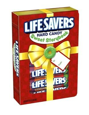 Life Savers Five Flavors Fruit Variety Hard Candy Xmas Story Book