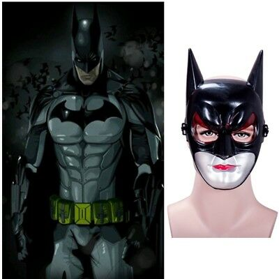 Black Halloween Mask Material ABS O7V2
