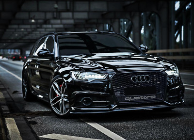 "Audi A6 4G 3.0TFSI S-line LED AAS AHK BOSE Kamera Keyless 2x20"" BLACKEDITION"