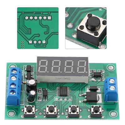 DC 7-24V Multifunction Cycle Delay Time Relay Pulse Trigger Timer Timing Control