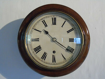 "Exceptionally Pretty 8"" WINTERHALDER & HOFMEIER Antique Wall Clock c.1895"