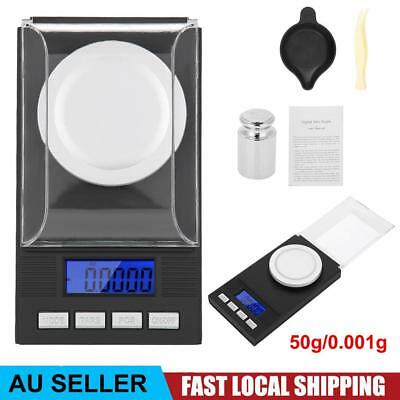 50g 0.001g High Precision Digital Pocket Scales Jewellery Electronic Milligram