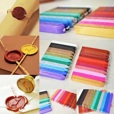 1/5Pcs Wax Sealing Stick Stamp Seal Candle Wick for Letters Envelope Multi Color