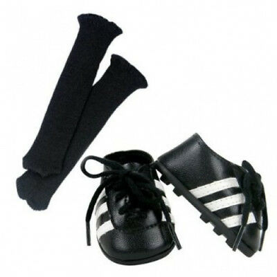 46cm Doll Soccer Cleats & Socks 2 Pc. Set Fits 46cm American Girl Dolls &