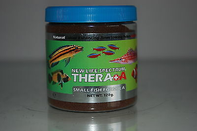 New Life Spectrum Thera  A  Small Fish Formula + Extra Garlic 120g Tubt 0.5mm