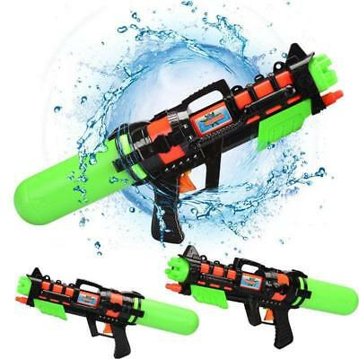 Super Water Gun Pump Action Pistol Outdoor Shoot Blaster Squirt Soaker Children