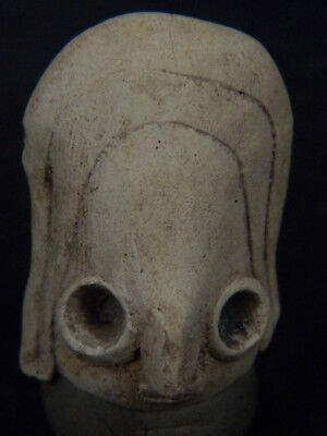 Ancient Indus Valley C.2500 BC Teracotta Head ###TR923###