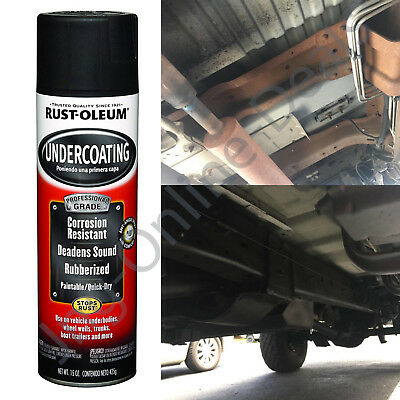 Anti Corrosion Spray Automotive Rust Undercoating 15 Ounces Rust-Oleum Black NEW