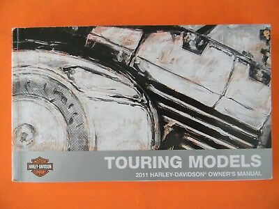 2011 Harley Touring Models Owner's Manual   Used   99466-11