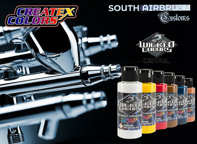 Createx Wicked Detail Colors Airbrush Farbe