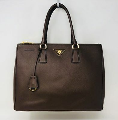 5a477f1c2bab Prada Galleria Women s Large Saffiano Tote Bag Cocoa Brown Leather MSRP   2