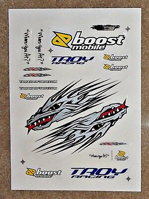 """YOT Decals """"Fifth Dragon"""" Stickers - Yamaha of Troy J-Law Racing MX/SX Team"""