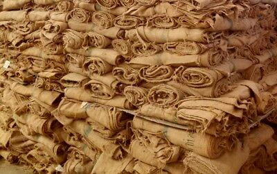 500 Used Coffee Bean Sacks In Hessian Jute & Burlap Great Mix £350.00 Free Post