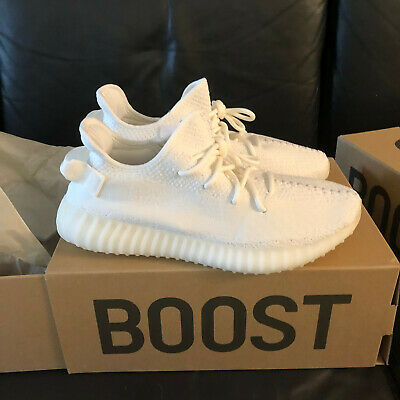 wholesale dealer 365f4 949e8 ADIDAS YEEZY BOOST 350 v2 white cream Size 10 Mauve Wave Runner new Nib 700  500
