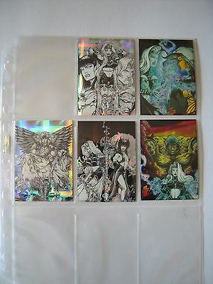 Lady Death 4  Wicked Ways    Chase Cards 2 3 4 5 6 Of 6 Cards   1997