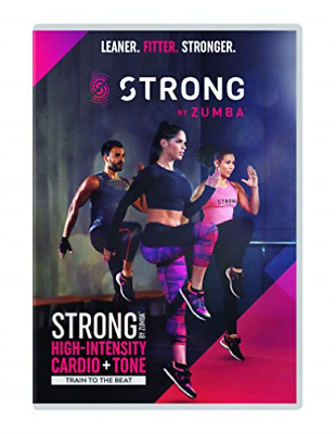 Strong By Zumba DVD NUEVO