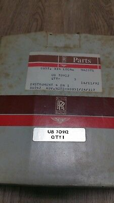 Rolls-Royce  Bentley instrument UB 70912 IP 4318-03 fuel, battery,oil,temp in 1