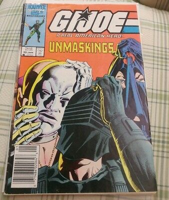G.I.Joe: A Real American Hero Issue # 55: Unmaskings.