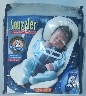 Summer Infant Complete Head and Body Support Snuzzler, Pediatrician Recommended