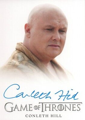 Game of Thrones Season 3, Conleth Hill 'Lord Varys' Autograph Card