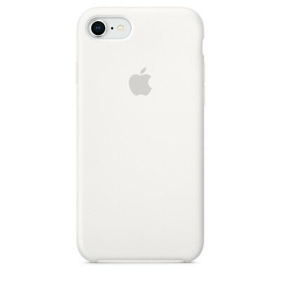 Brand New OEM Silicone Case Apple Silicone Case iPhone 7 iPhone 8 - WHITE