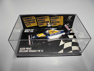 Microchamps Williams Renault FW 15 F1 1/64 - Alain Prost 1993