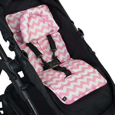 Mini Liner with Head Support - Pink Chevron