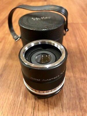 VIVITAR camera lens Automatic Tele Converter 3X-1 In case with caps