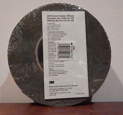 Roll 3M Safety-Walk Slip-Resistant Conform Tape Tread 510 Black 60' Roll