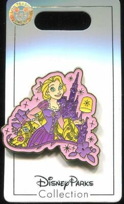 Sparkle Castle Rapunzel Disney Pin 130947