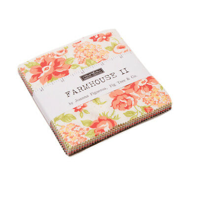 "Moda Charm pack Farmhouse II by Joanna Figueroa 42 - 5"" cotton squares 20320PP"