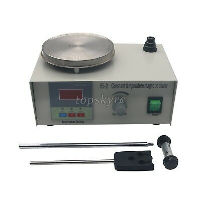 Laboratory Magnetic Stirrer Constant Temperature w/ Heat Plate Hotplat Mixer tBE