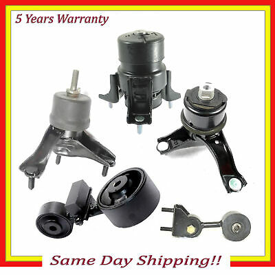 1 Automatic Transmission Mount Set Kit Support for Toyota Camry 3 Engine Motor