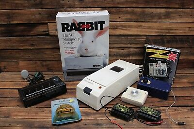 Vintage VHS Multipliers Rabbit Dick Smith Battery Charger Retro Electrical