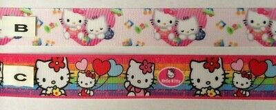 Hello Kitty Grosgrain Ribbons all designs sold by 2M - Craft -Hair Bows etc