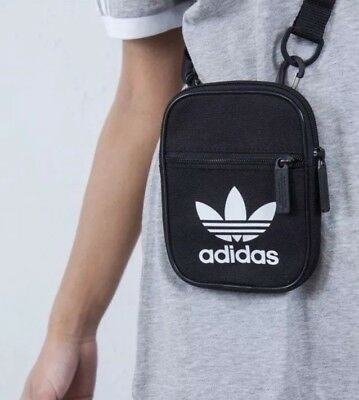 005758f9346 adidas Originals Trefoil Festival Bag Crossbody Shoulder Waist Fanny Pack  NWT