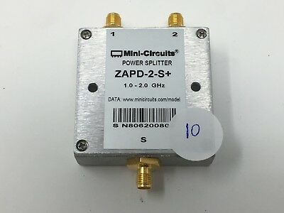 Mini-Circuits ZAPD-2-S Power Splitter (1.0 - 2.0 GHz) (B4-10)