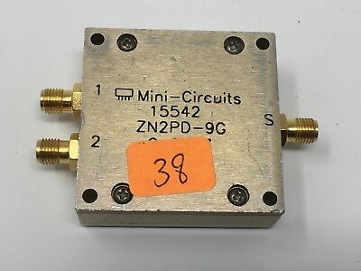 MINI-CIRCUITS POWER SPLITTER ZN2PD-9G 50Ω 1700-9000 MHz (B4-38)